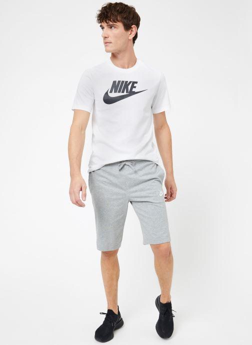 Vêtements Nike M Nike Sportwear Club Short Jersey Gris vue bas / vue portée sac