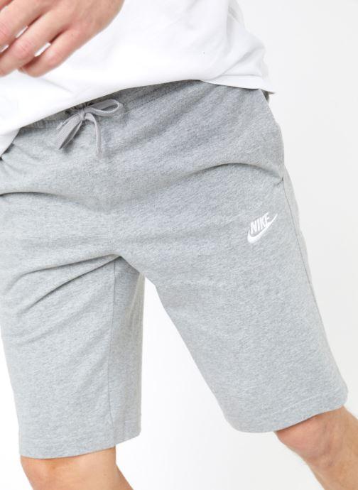 Tøj Nike M Nike Sportwear Club Short Jersey Grå detaljeret billede af skoene