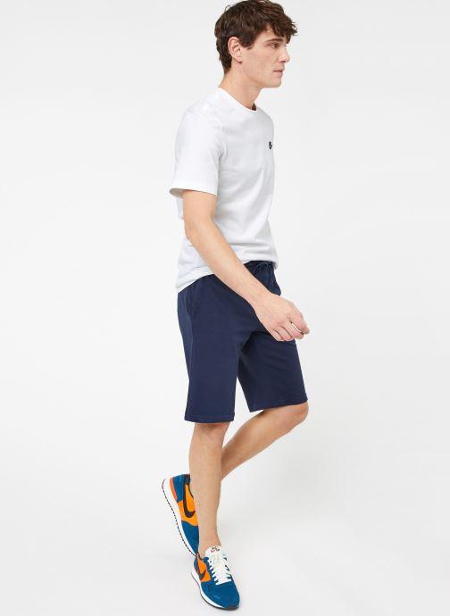Ropa Nike M Nike Sportwear Club Short Jersey Azul vista de abajo