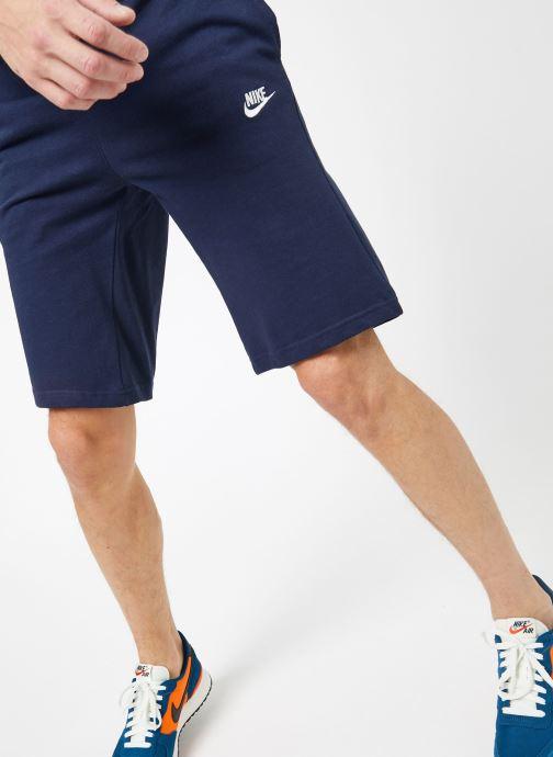 Ropa Nike M Nike Sportwear Club Short Jersey Azul vista de detalle / par