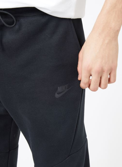 Kleding Nike M Nike Sportwear Tech Fleece Jogger Zwart voorkant