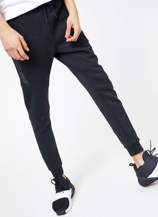 Tøj Nike M Nike Sportwear Tech Fleece Jogger Sort detaljeret billede af skoene