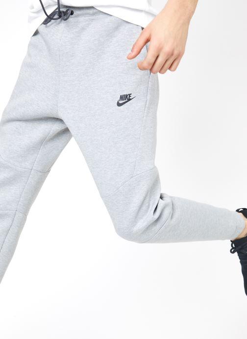 Tøj Nike M Nike Sportwear Tech Fleece Jogger Grå detaljeret billede af skoene