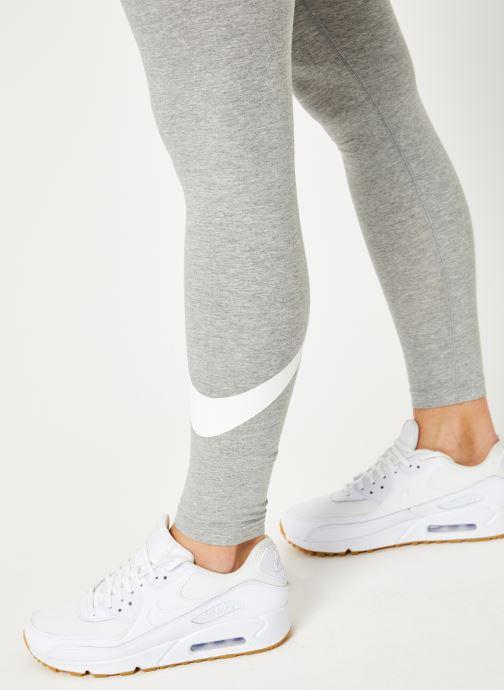 Kleding Nike W Nike Sportwear Leggings Club Logo2 Grijs voorkant