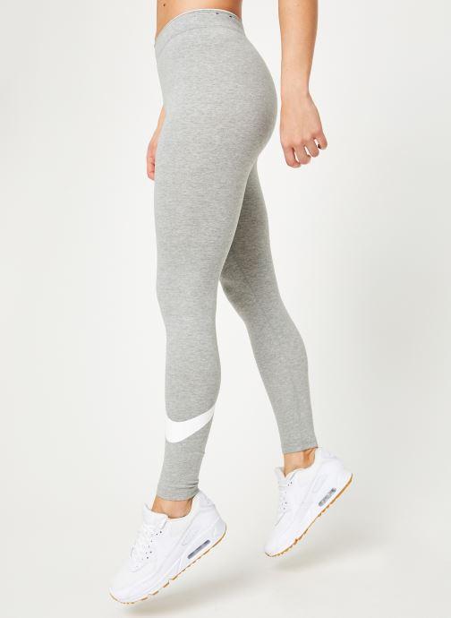 Vêtements Nike W Nike Sportwear Leggings Club Logo2 Gris vue détail/paire