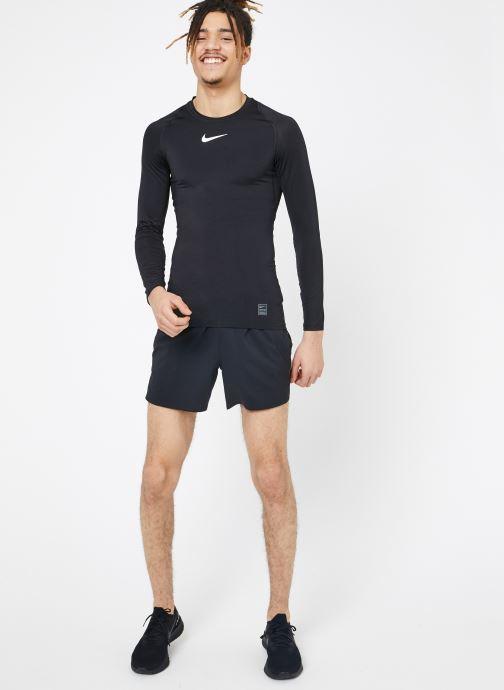 Nike shirts Top M Polos Long Black Comp white white Et Pro VêtementsT sleeve 35jLc4ARqS