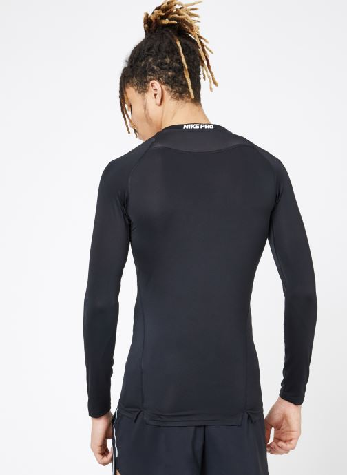 Tøj Nike M  Nike Pro Top Long-Sleeve Comp Sort se skoene på