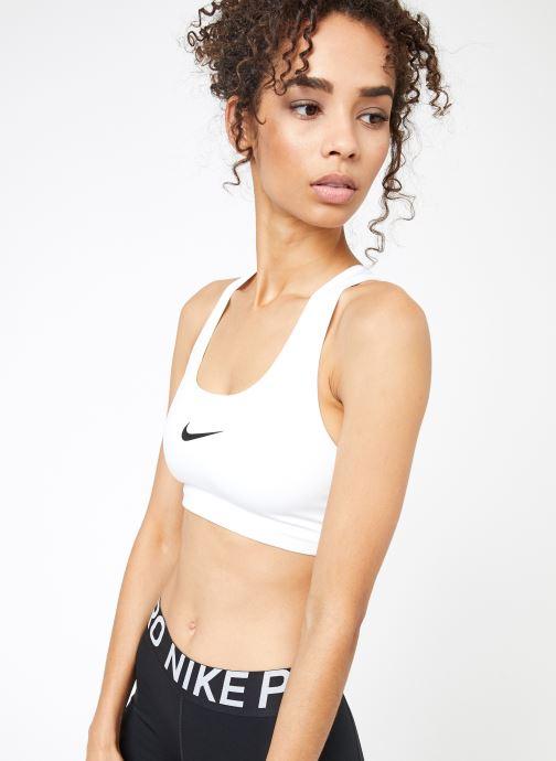 Kleding Nike Nike Swoosh Bra Wit detail