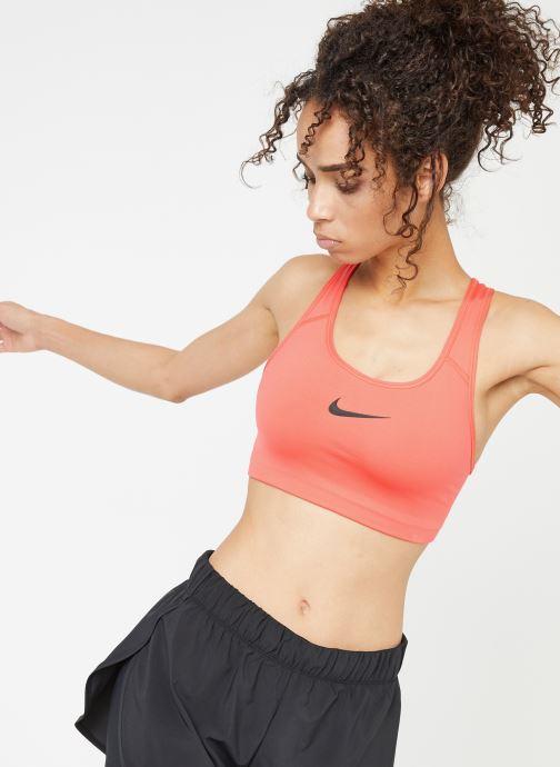 Vêtements Nike Nike Swoosh Bra Rouge vue détail/paire