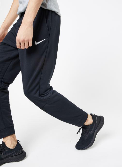 Tøj Nike M Nike Dry Pant Taper Fleece Sort detaljeret billede af skoene