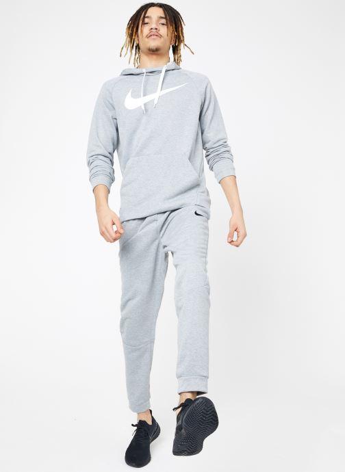 Vêtements Nike M Nike Dry Pant Taper Fleece Gris vue bas / vue portée sac