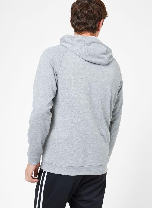 Ropa Nike M Nike Dry Hoodie Full Zip Fleece Gris vista del modelo