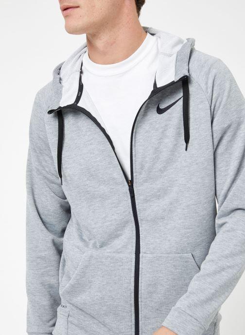 Ropa Nike M Nike Dry Hoodie Full Zip Fleece Gris vista de frente