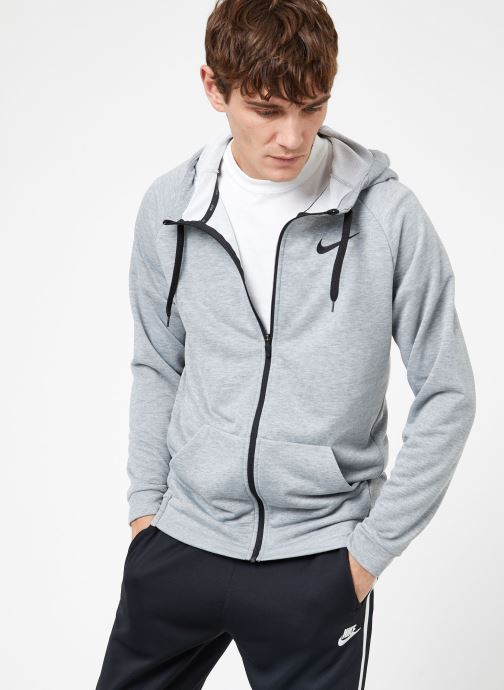 Vêtements Nike M Nike Dry Hoodie Full Zip Fleece Gris vue droite