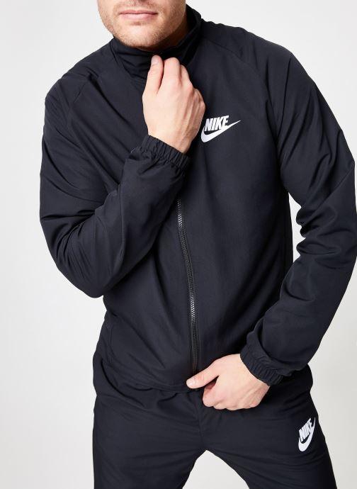 Ropa Nike M Nike Sportwear Ce Trk Suit Wvn Basic Negro vista de detalle / par