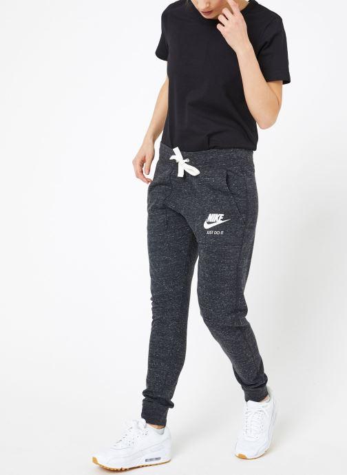 Ropa Nike W Nike Sportwear Gym Vintage Pant Gris vista de abajo