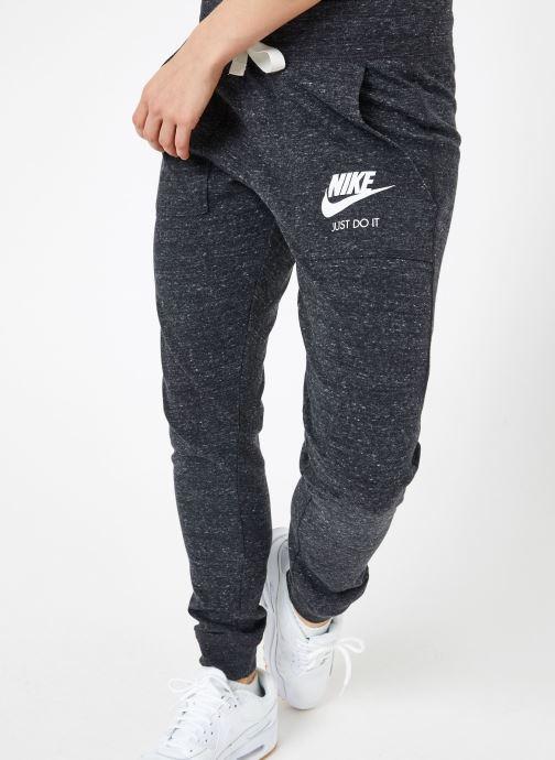Ropa Nike W Nike Sportwear Gym Vintage Pant Gris vista de detalle / par