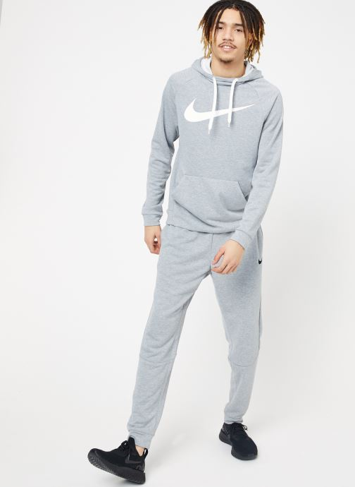 Vêtements Nike M Nike Dry Hoodie Po Swoosh Gris vue bas / vue portée sac