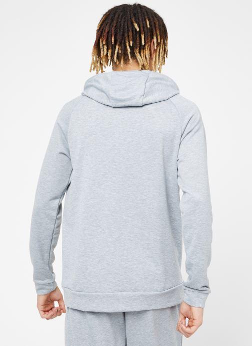 Vêtements Nike M Nike Dry Hoodie Po Swoosh Gris vue portées chaussures