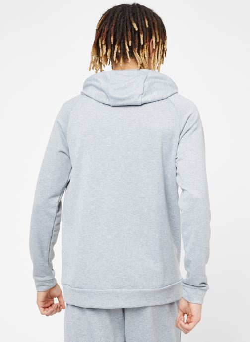 Kleding Nike M Nike Dry Hoodie Po Swoosh Grijs model