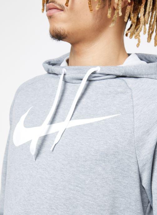Kleding Nike M Nike Dry Hoodie Po Swoosh Grijs voorkant