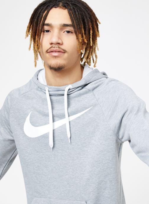 Vêtements Nike M Nike Dry Hoodie Po Swoosh Gris vue détail/paire