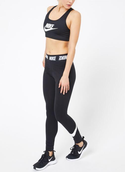 Abbigliamento Nike Nike Swoosh Futura Bra Nero immagine dal basso