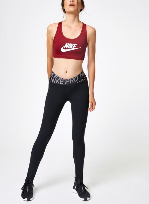 Vêtements Nike Nike Swoosh Futura Bra Rouge vue bas / vue portée sac