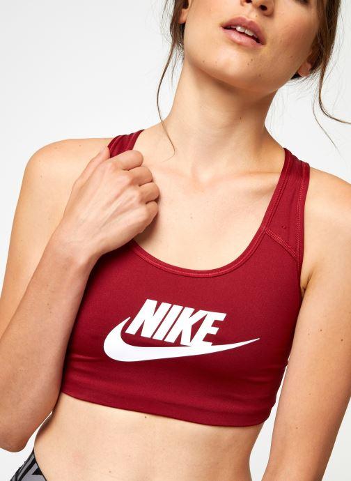 Vêtements Nike Nike Swoosh Futura Bra Rouge vue face