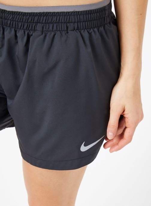 Kleding Nike W Nike Elevate Trck Short 5In Zwart voorkant