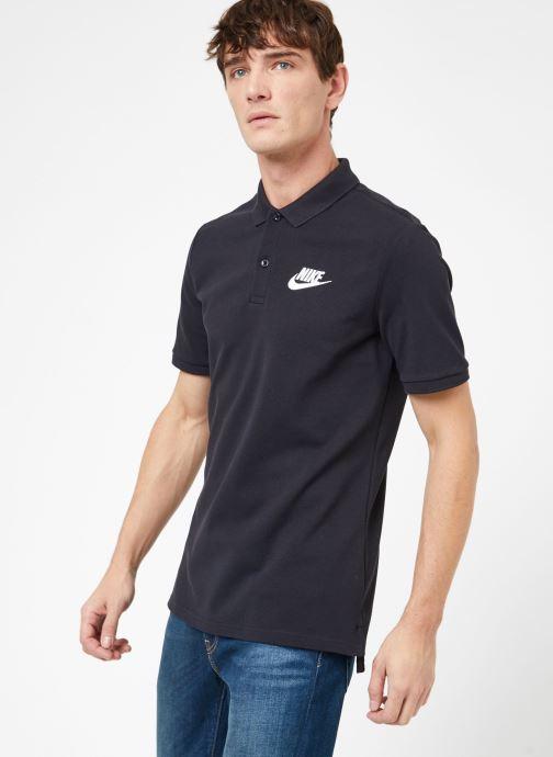 Kläder Nike M Nike Sportwear Ce Polo Matchup Pq Svart Bild från höger sidan