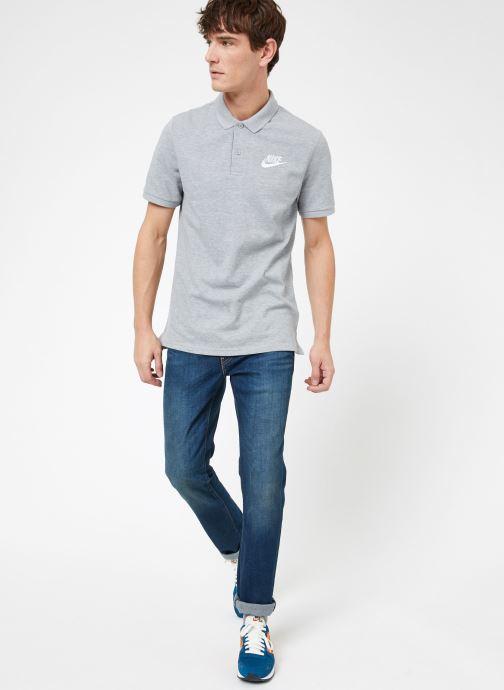 Vêtements Nike M Nike Sportwear Ce Polo Matchup Pq Gris vue bas / vue portée sac