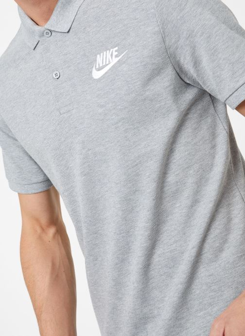 Kleding Nike M Nike Sportwear Ce Polo Matchup Pq Grijs voorkant