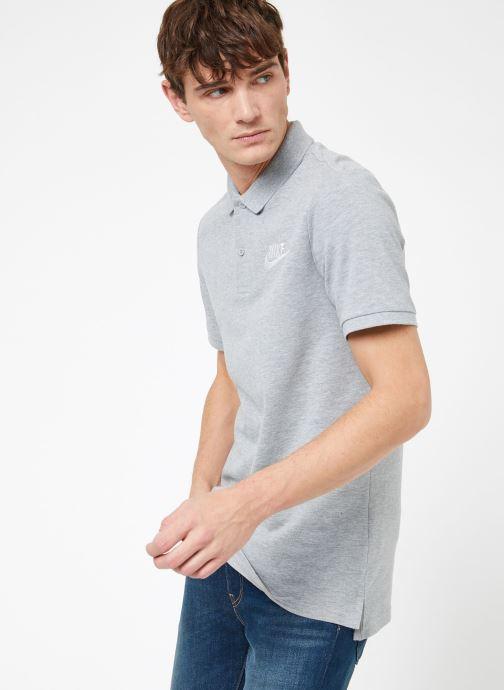 Vêtements Nike M Nike Sportwear Ce Polo Matchup Pq Gris vue droite