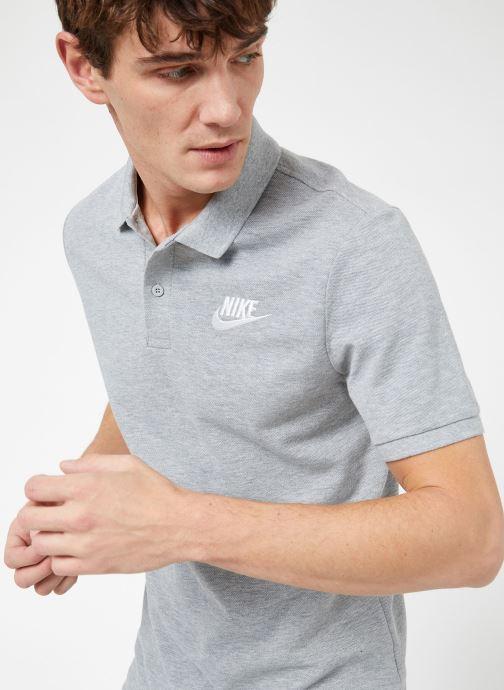 Vêtements Nike M Nike Sportwear Ce Polo Matchup Pq Gris vue détail/paire