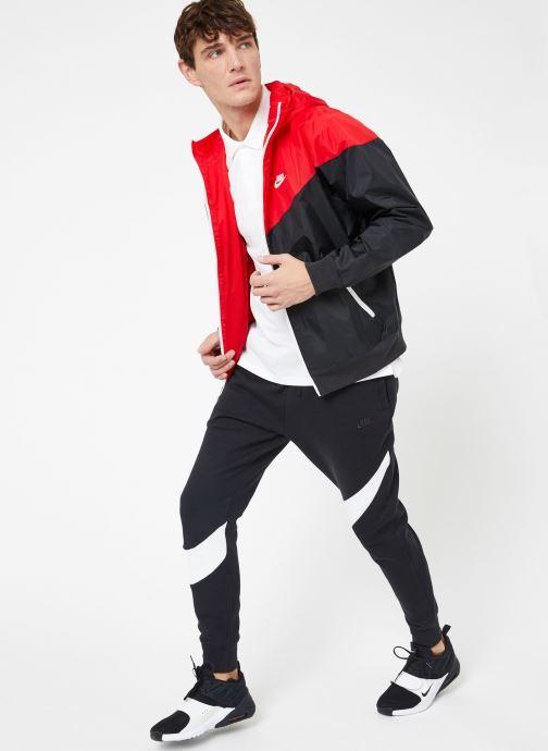Vêtements Nike M Nike Sportwear Ce Polo Matchup Pq Blanc vue bas / vue portée sac