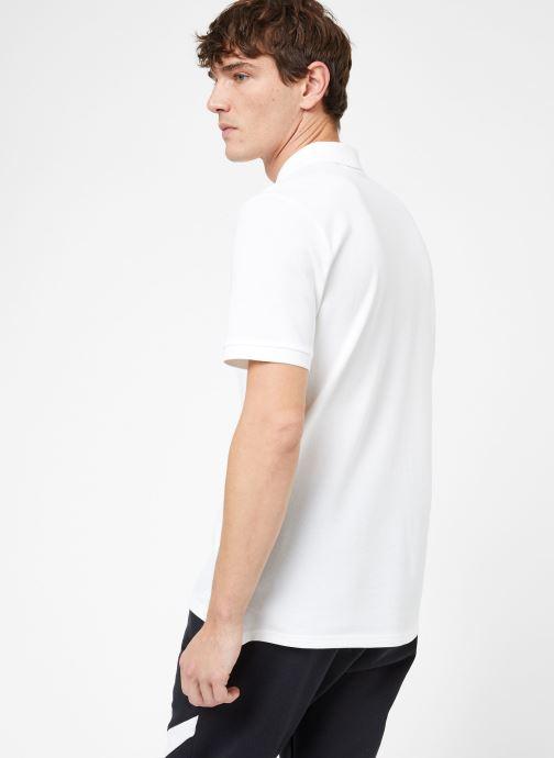 Vêtements Nike M Nike Sportwear Ce Polo Matchup Pq Blanc vue portées chaussures