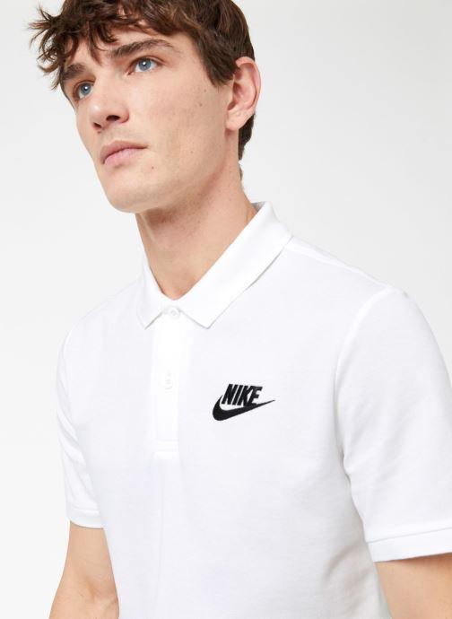Ropa Nike M Nike Sportwear Ce Polo Matchup Pq Blanco vista de frente