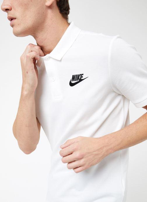 Vêtements Nike M Nike Sportwear Ce Polo Matchup Pq Blanc vue détail/paire