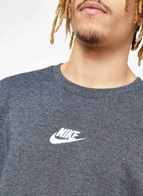 Tøj Nike M Nike Sportwear Heritage Crw Sort se forfra