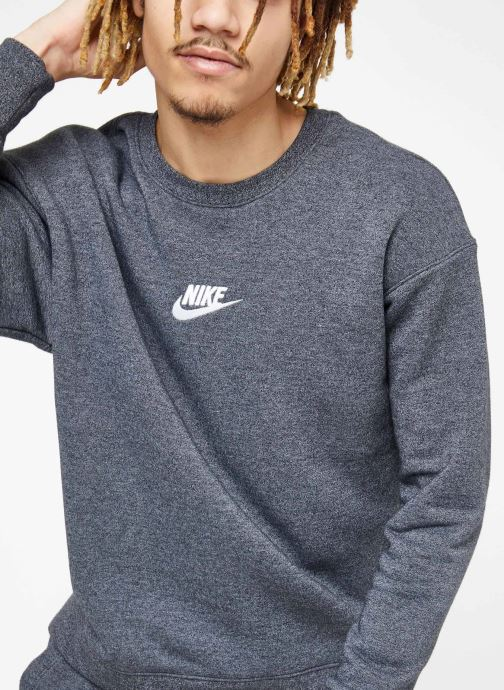 Tøj Nike M Nike Sportwear Heritage Crw Sort detaljeret billede af skoene