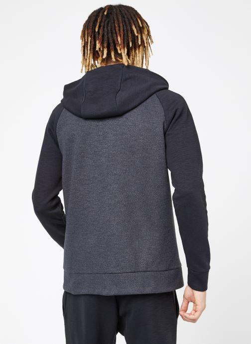 Vêtements Nike M Nike Sportwear Optic Hoodie Full Zip Noir vue portées chaussures
