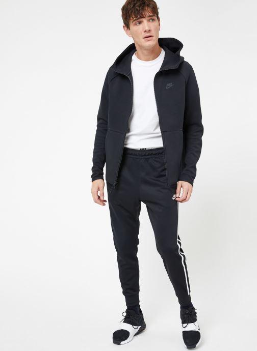 Kleding Nike M Nike Sportwear Tech Fleece Hoodie Full Zip Zwart onder