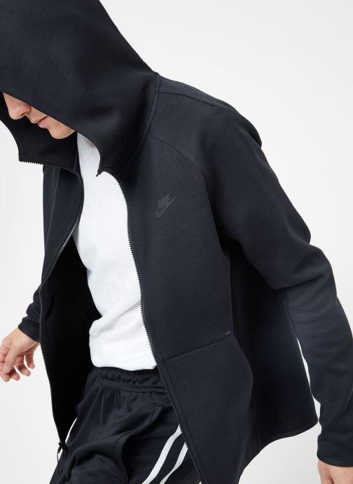 Kleding Nike M Nike Sportwear Tech Fleece Hoodie Full Zip Zwart detail