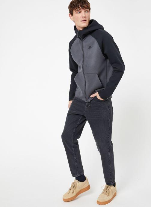 Ropa Nike M Nike Sportwear Tech Fleece Hoodie Full Zip Gris vista de abajo