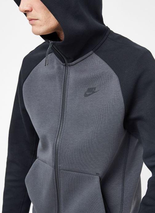 Ropa Nike M Nike Sportwear Tech Fleece Hoodie Full Zip Gris vista de frente