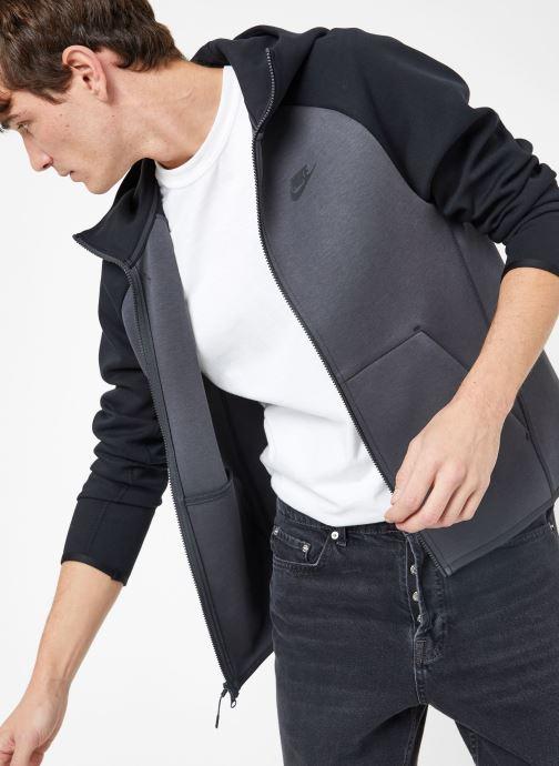 Ropa Nike M Nike Sportwear Tech Fleece Hoodie Full Zip Gris vista de detalle / par