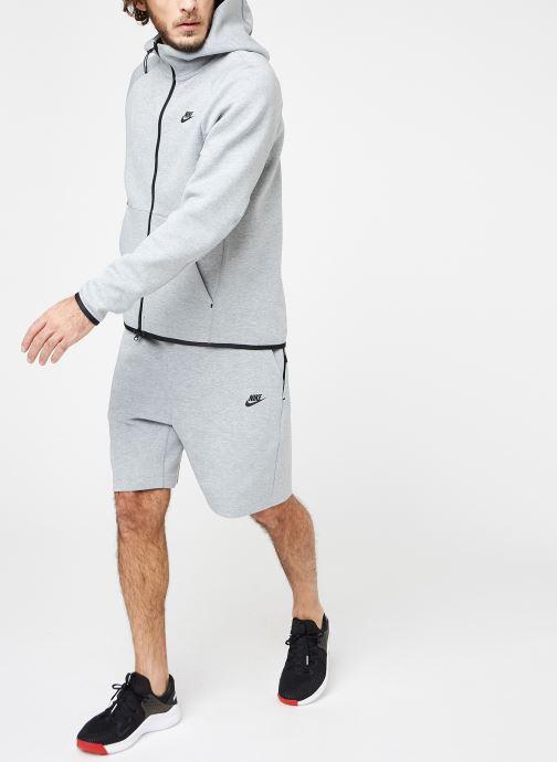 Vêtements Nike M Nike Sportwear Tech Fleece Hoodie Full Zip Gris vue bas / vue portée sac