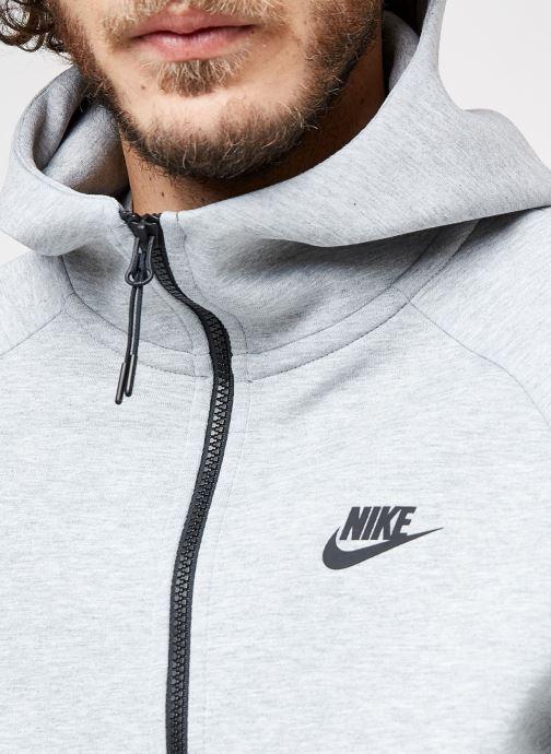 Kleding Nike M Nike Sportwear Tech Fleece Hoodie Full Zip Grijs voorkant
