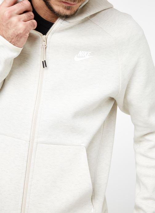 Tøj Nike M Nike Sportwear Tech Fleece Hoodie Full Zip Grå se forfra